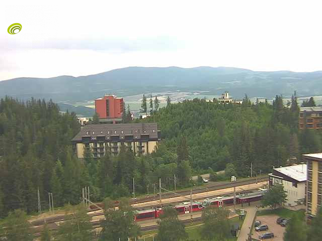 Webcam Skigebied Strbske Pleso Hoge Tatra