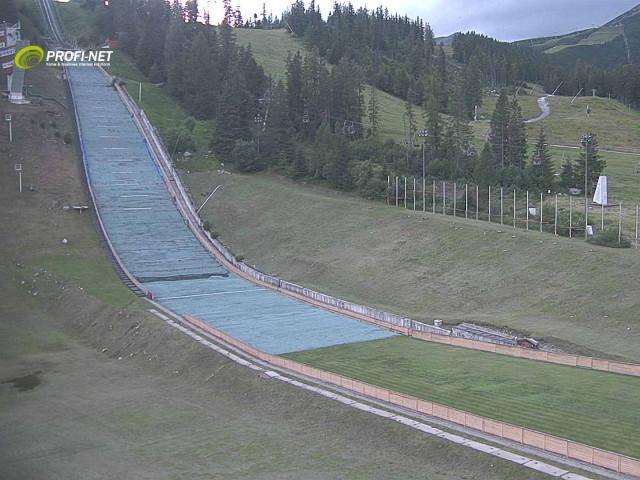 Webcam Skigebied Strbske Pleso Pleso - Hoge Tatra